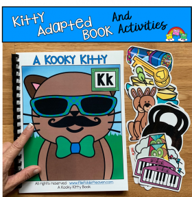 """A Kooky Kitty"" Adapted Books And Activities"