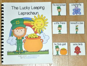 """The Lucky Leaping Leprechaun"" Adapted Book"