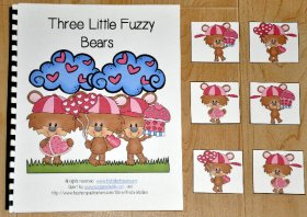 """Three Little Fuzzy Bears"" Adapted Book"
