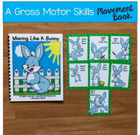 Bunny Themed Movement Book (And Cards!)