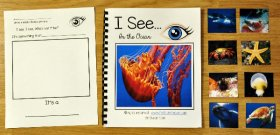 """I See"" In the Ocean Adapted Book (w/Real Photos)"