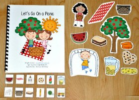 """Let's Go on a Picnic"" Adapted Song Book"