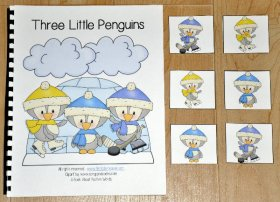 """Three Little Penguins"" Adapted Book"