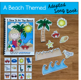"""I Saw It at the Beach"" Adapted Song Book"