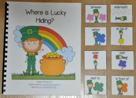 """Where is Lucky Hiding?"" Adapted Book"