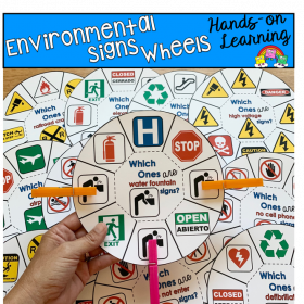 Environmental Signs Task Cards
