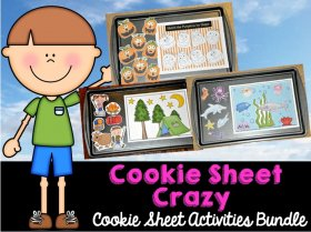 Cookie Sheet Activities Bundle: Cookie Sheet Crazy