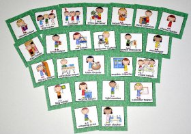Classroom Helpers Cards