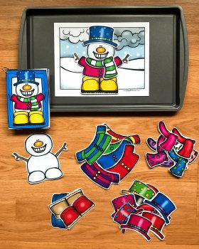 Dress A Snowman Center Activities