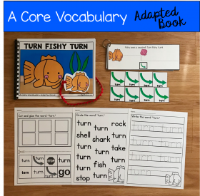 """Turn Fishy Turn"" (Working With Core Vocabulary)"