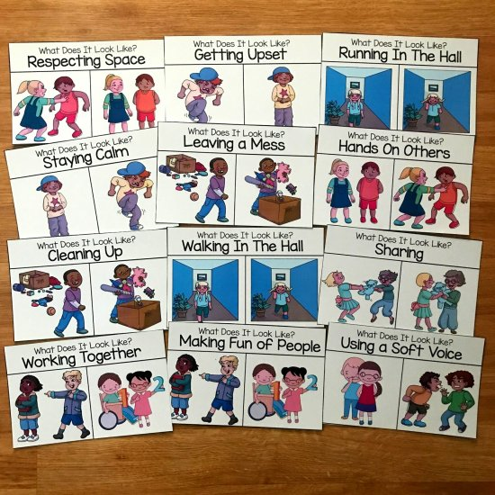 Behavior Task Cards: What Does It Look Like
