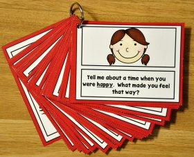 "Emotions ""Think and Chat"" Cards"
