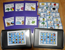 Beginning Sounds Activities Bundle