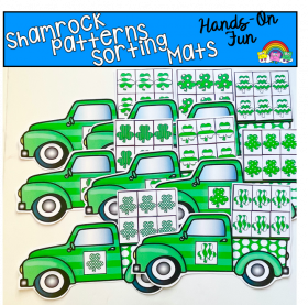 Shamrock Patterns Sorting Activities