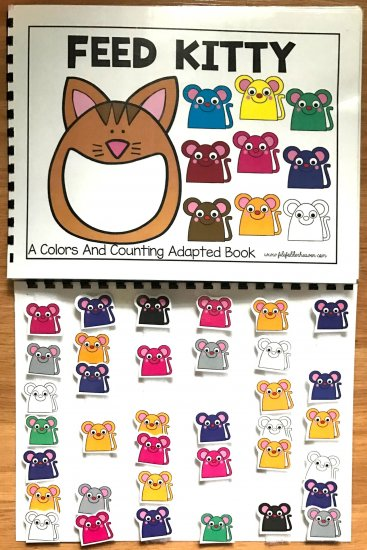 Feed Kitty: A Counting and Colors Adapted Book