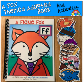 """A Fickle Fox"" Adapted Book"