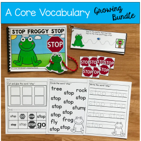 Core Vocabulary Activities Bundle