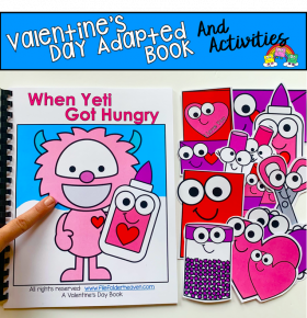 """When Yeti Got Hungry"" Adapted Book And Activities"