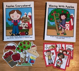 "Apple Adapted Books: ""Apples Everywhere"" ""Moving With Apples"""