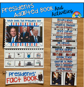 """What Do Presidents Do? Adapted Book And Activities"