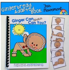 """Ginger Can, Can You?"" Movement And Imitation Book"