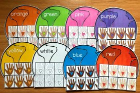 Earth Day Colors Sorting Mats