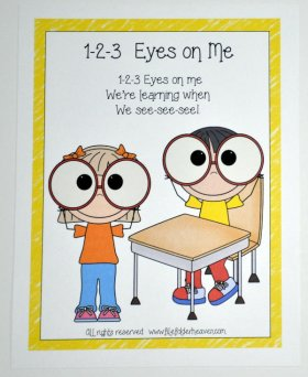 1-2-3 Eyes on Me Poster