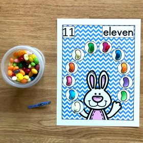 Easter Themed Jellybeans Math