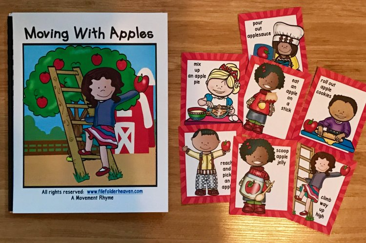 Apple Themed Movement Activities