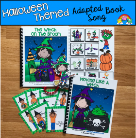 Halloween Themed Adapted Books (w/Music and Movement)