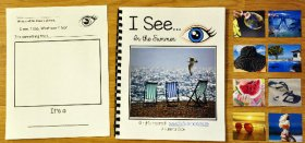 """I See"" In the Summer Adapted Book (w/Real Photos)"