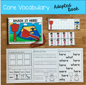 """Smack It, Here!"" (Working With Core Vocabulary)"