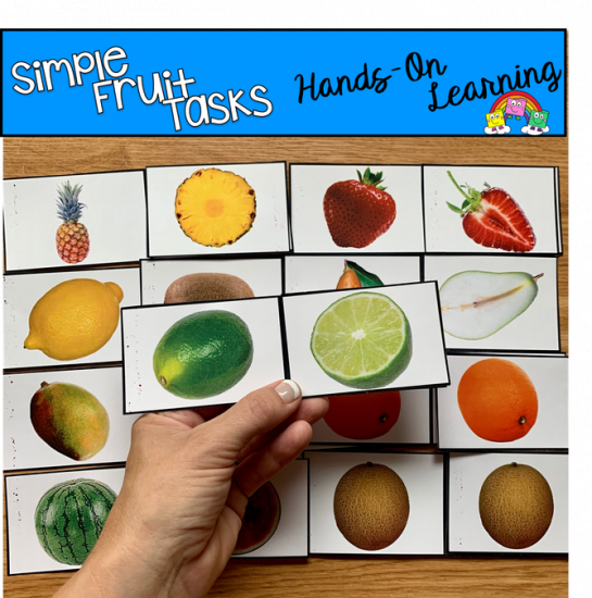 Fruit Themed Vocabulary Tasks
