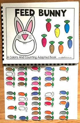 Feed Bunny: A Colors and Counting Adapted Book