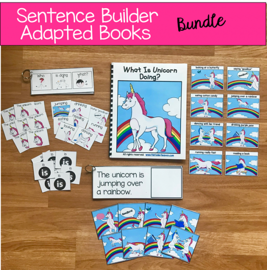 graphic relating to Sentence Building Games Printable titled Sentence Builder Guides Expanding Package - $25.00 : Document Folder