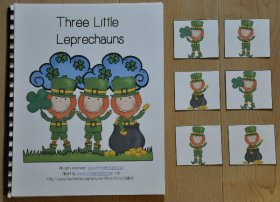 """Three Little Leprechauns"" Adapted Book"