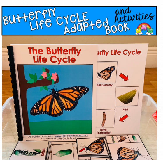 Big Box of Butterfly Life Cycle Tasks