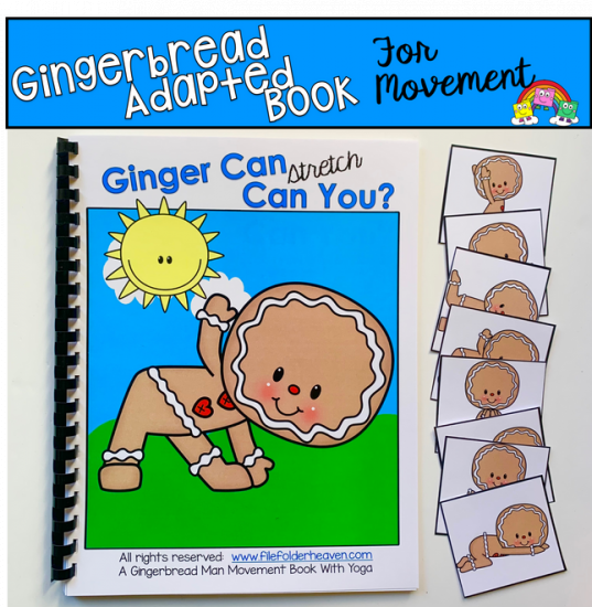 """Ginger Can, Can You?\"" Movement And Imitation Book"