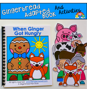 """When Ginger Got Hungry"" Adapted Book And Activities"