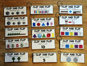 Math Clip and Flip Books Bundle