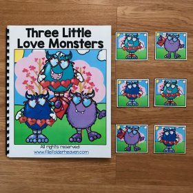 """Three Little Love Monsters"" Adapted Book"