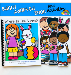 "Bunny Adapted Book: ""Where Is The Bunny?"""