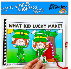"""What Did Lucky Make?"" (Working With Core Words)"