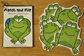 Frogs and Turtles Match and Flip Books