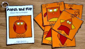 Fall Match and Flip Books