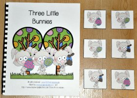 """Three Little Bunnies"" Adapted Book"