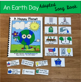 """A Happy Planet"" Adapted Song Book"
