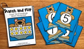 Groundhog Day Match and Flip Books