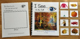 """I See"" Fall Adapted Book (w/Real Photos)"
