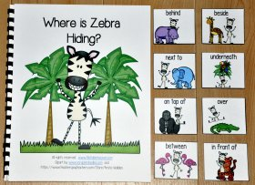 """Where is Zebra Hiding"" Adapted Book"